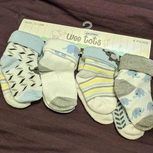 NWT Weetots Socks set of 8